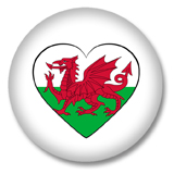 Wales Ansteckbutton