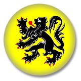 Belgien Flandern Flagge Button