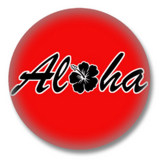 ALOHA Button Badge / Ansteckbutton
