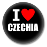 Tschechien Ansteckbutton - I Love Czechia