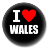 Wales Ansteckbutton - I Love Wales