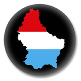 Luxemburg Flagge Button