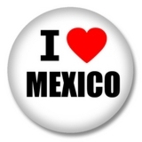 Mexiko Button — I love Mexico