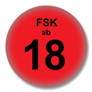 FSK18 - Sprüche Button Badge