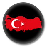 Türkei Button - Silhouette 2